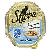 Sheba Schale Sauce Lover mit Thunfisch (MSC), 85 g