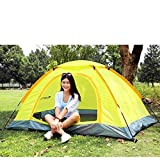 #3: Waterproof Uv Outdoor Hiking Tents 6 Person tent With Carrying Bag by Stvin