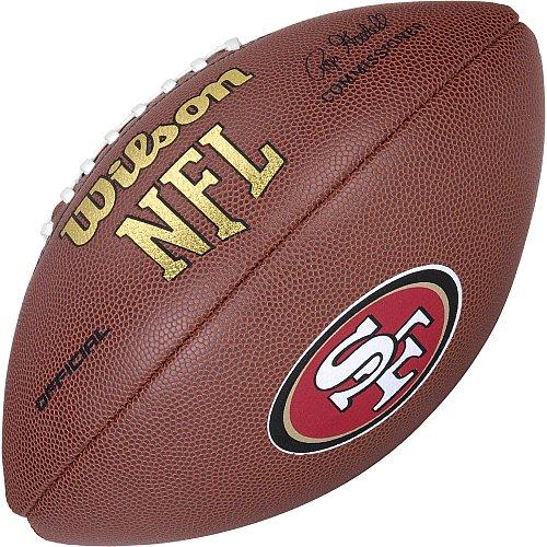 49ers San Francisco (San Francisco 49ers Logo OFFIZIELLER Fußball)