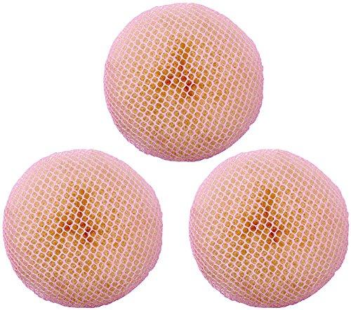 Dutt Haarnetz 3 Stück (pink) Dutt Haarnetz 3 Stück | Gymnastik | Ballett | Tanz | Sport | Rhythmische Sportgymnastik | Eiskunstlauf