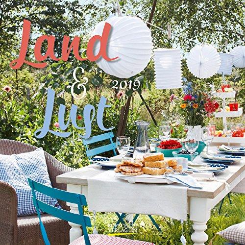 Land & Lust 2019 Broschürenkalender: Mit Ferienterminen