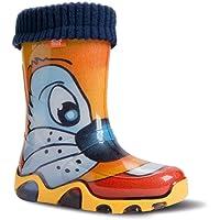 Demar Stormer Lux, stivali di gomma imbottiti, per bambini