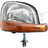 Scheinwerfer links H7//H7 f/ür S80 I TS XY 184 inkl Osram Lampen