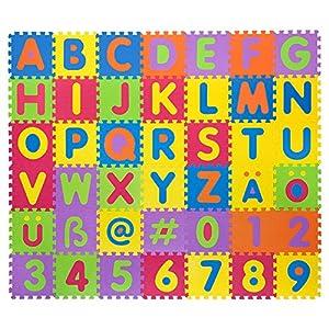 Puzzlematte für Babys & Kinder, 106 Teile, zertifiziert & schadstofffrei,...