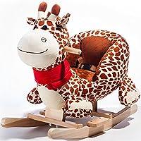 Rocket Bunny Toddler Rocking Dragon Indoor Ride On Toys Kids Rocking Animal