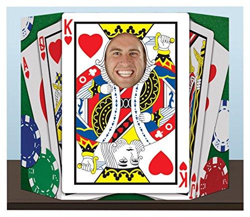 Beistle Royal Flush Foto Prop, farbenreiche