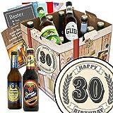 30. Geburtstag | Bier Geschenkset | Deutsches Bier