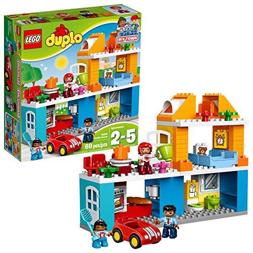 LEGO Duplo meiner Stadt Einfamilienhaus 10835 Baustein Spielzeug für Kleinkinder (Lego-meine Stadt)