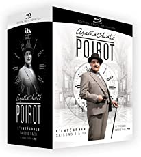 Poirot (Complete Collection Seasons 1-13) [Blu-ray] (Region B) FRENCH IMPORT