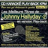 CD Karaoké Play-Back KPM Vol. 18 Johnny Hallyday - 2