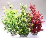 Sydeco Plastik Pflanzen Deko für Aquarien/Terrarien Aquaplant Gigant 46cm