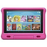 Fire HD 10 Kids-Tablet | Ab dem Vorschulalter | 10,1 Zoll, 1080p Full HD-Display, 32 GB, pinke kindgerechte Hülle (vorherige