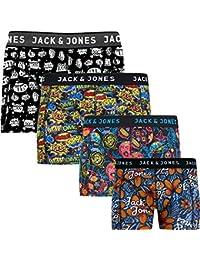 3a9ae7208d7a8e Jack   Jones Trunks   4 er Pack  Sense Boxershorts Boxer Short Unterhose S  M L XL