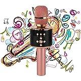 Die besten Gesangsmikrofone - ZYWX Bluetooth-Mikrofon-LED, Multi-Funktion, Drahtlose Mikrofon-Lautsprecher Für Familienfeiern, KTV Bewertungen