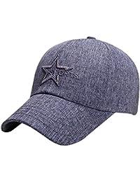 cd54898919edd Premium Star Embroidered Trucker Hat Hawaiian Cotton Adjustable Snapback Hats  Men s Women s Hip-Hop Flat