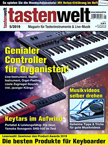Keytars Portabel Yamaha Sonogenic SHS-500 im Test / Mondscheinsonate Noten / Musikvideo selber drehen / Keyboarder
