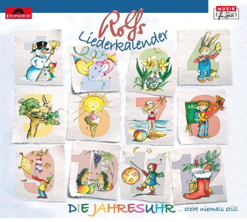 Rolfs Liederkalender / Die Jah...