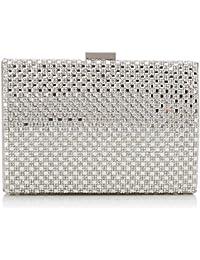 Coast Bags Anaya femme Pochettes Argent (Silver) 5.5x10.5x16 cm (W x H x L)
