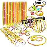 Bramble 544 Stück Knicklichter - Ideal für Partys, Partygeschenke, Piñata Spielzeug, Belohnungen, Weihnachten, Neujahr usw.