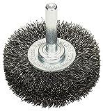 BOSCH Scheibenbürste, Stahl, gewellter Draht, 0,2 mm, 50 mm, 15 mm, 4500 U/min,...