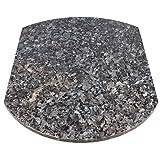 Multigleiter® Granit Blue Pearl Multi-Gleitbrett für den Thermomix® TM5 und TM31, Küchengleiter