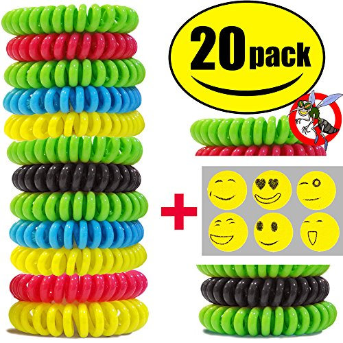sturme-20-pack-natural-mosquito-repellent-bracelets-wristband-wrist-band-waterproof-bug-insect-prote