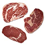 Ribeye Steak Paket - Bison, Black Angus, Hereford Dry-Aged