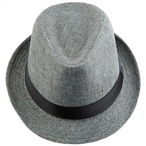 Shanxing Fedora Hut Herren Trilbyhut Panamahut Sonnenhut Hüte Jazz Kappe