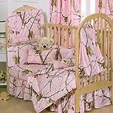 Realtree APC Pink Kinderbett Bettvolant