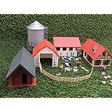 NewRay Bauernhof 4 Gebäude, Spur G Gartenbahn IIm