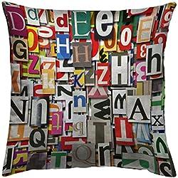 Diseño de piel de cebra de tela 35435 40 digital Collage funda de cojín 50 x 50 cm