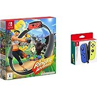 Ring Fit Adventure - [Nintendo Switch] & Joy-Con 2er-Set, blau/neon-gelb