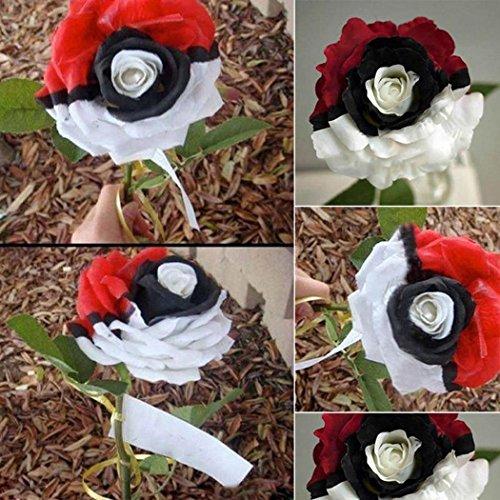 ncient 50 semi sementi di rosa di ibridazione rosso bianco nero semi fiori rari profumati piante per orto giardino balcone interni ed esterni