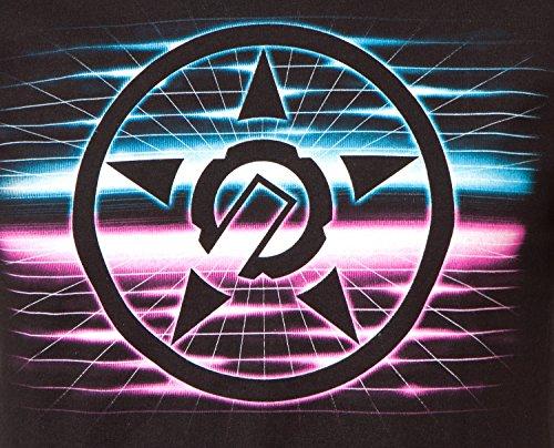 Unit T-Shirt Frequency Schwarz Schwarz