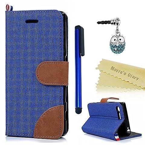 Mavis's Diary Sony Xperia X Compact Flip Case - Premuim