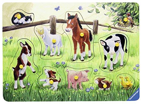 Ravensburger 03671 - Heimische Tierkinder