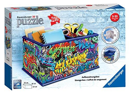 Ravensburger 12111Graffiti Vanity Caja 216Piezas Puzzle en 3D
