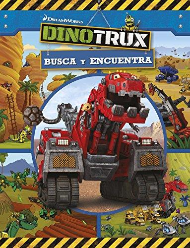 Dinotrux. Busca y encuentra