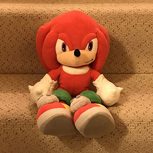 Official Sega Knuckles 30cm Soft Toy (Sonic Character)