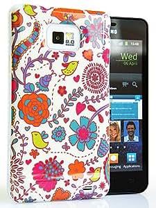 CASEiLIKE ® - Blumen blühen Glossy Snap on Back Cover Gehäuse für Samsung Galaxy S2 / S 2 / S II / i9100 – mit Displayschutzfolie 1pcs.