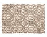 Sukhi Jai: naturweißer Webteppich, Silbergrau, modernes Design, Starke handgefertigte Teppiche (300cm x 400cm / 9' 10.1'' x 13' 1.4'')