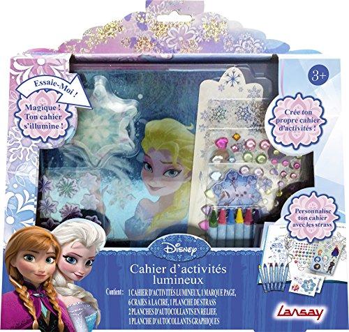 Lansay - 25063 - Kit De Loisirs Créatifs - Cahier D'activité Lumineux Reine Des Neiges
