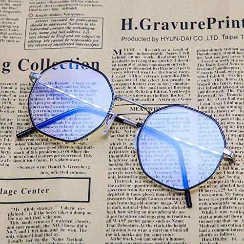 Sonnenbrillen Blu-ray-sperrbrillen, Blendmüdigkeit, Die Kopfschmerzen Beim Augenschutz Blockiert, Computer/mobile Sicherheitsbrillen, Transparente Linsen Schwarzer Silberrahmen