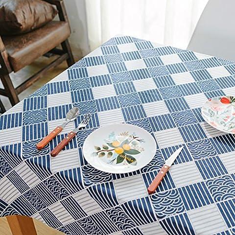 Tessuto blu marino giapponese tovaglia vintage/ bella in fresca cotone/ Giappone il panno tradizionale arte povera/ Gabe-A 40x60cm(16x24inch)