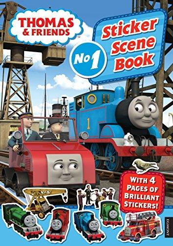 Thomas & Friends: Sticker Scene Book (Sticker Scene Books) por Egmont Publishing UK