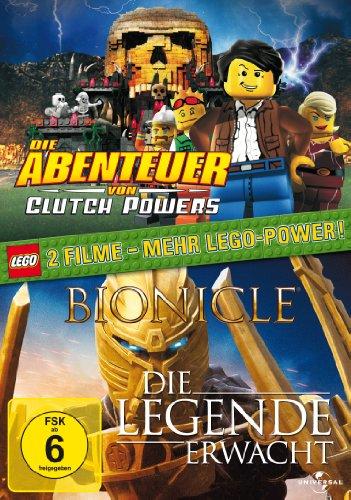 LEGO - Die Abenteuer von Clutch Powers / Bionicle: Die Legende erwacht (2 DVDs)