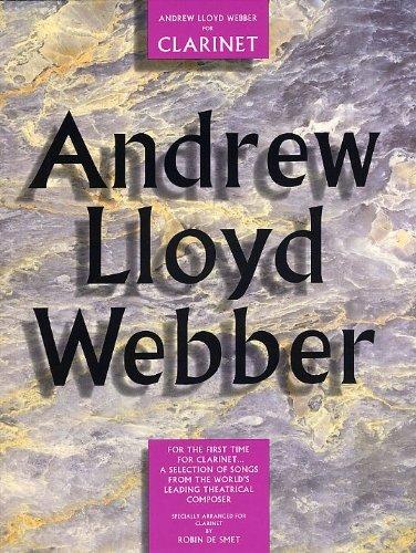 Andrew Lloyd Webber for Clarinet Clt