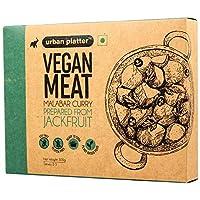 Urban Platter Vegan Meat (Jackfruit), Malabar Curry, 300g / 10.5oz [MockMeat, Ready to Cook, Plant-Based Protein]
