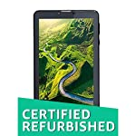 Renewed  Acer One 7 Tablet  7 inch, 8 GB, Wi Fi + 3G, Voice Calling , Black Tablets