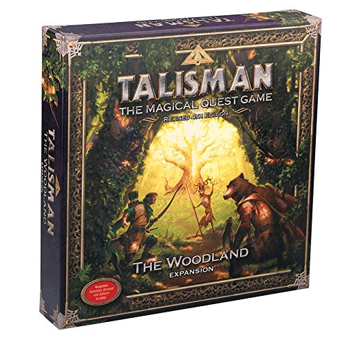 Games Workshop GAW89006 Nein Talisman: the Woodland Expansion, Spiel